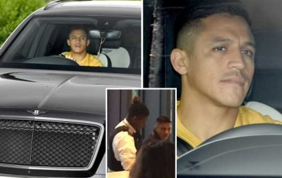 Alexis Sanchez back at Man Utd training following Thursday absence for US embassy trip – The Sun