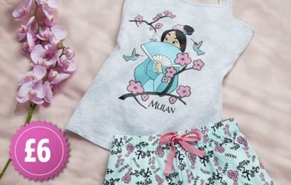 Primark is selling Mulan pjs ahead of the film's release next year and shoppers can't wait to snap them up – The Sun