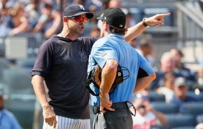 Aaron Boone doesn't want more of these umpire dust-ups