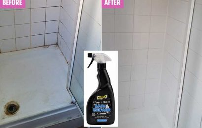 Mrs Hinch fans are going wild for a £3 cleaning spray that leaves showers sparkling… and it works wonders on toilets and cookers too