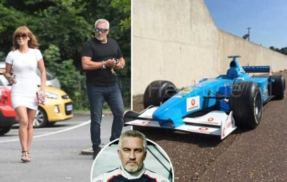 Great British Bake Off's Paul Hollywood is spending thousands reviving an old F1 car as he gets over his bitter split from Summer Monteys-Fullam – The Sun
