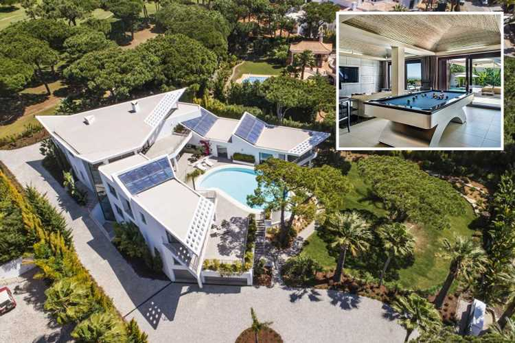 Now YOU can stay in top Premier League stars' luxury Algarve villas as company organises holidays for Brit families at star's homes – The Sun