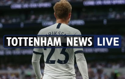 12pm Tottenham news LIVE: Arsenal build up, Eriksen's agent in Levy bust-up, Alli fitness, Merson says Spurs already out of title race – The Sun