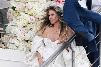 Heidi Klum and Tom Kaulitz marry for the second time in Italy