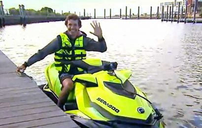 New Jersey man commutes to his NYC job on a jet ski