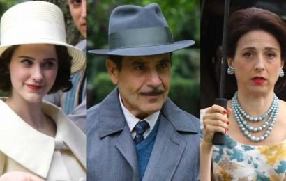 Rachel Brosnahan Spends the Day Filming with 'Mrs. Maisel' Parents