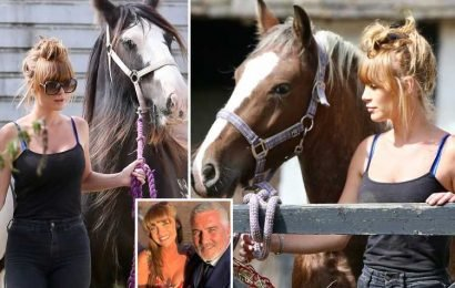 Paul Hollywood's ex Summer Monteys-Fullam keeps herself busy with her horses after he tried to win her back