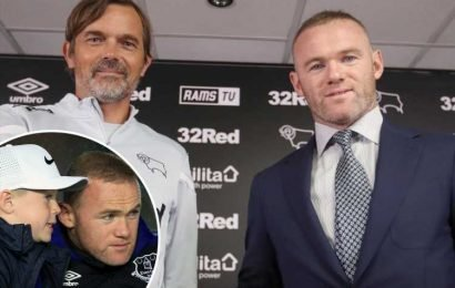 Rooney says son Kai's schooling was 'crucial' to Derby transfer decision but vows 'I've come here to play' – The Sun