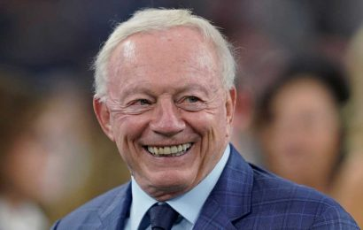Jerry Jones used a bizarre analogy involving a nearly severed hand to describe Cowboys' contract negotiations with star players
