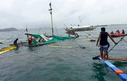 Ferries capsize in Philippine waters; 25 dead, 55 rescued, 6 missing, officials say
