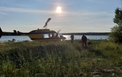 Canadian police send divers into river as manhunt enters 3rd week