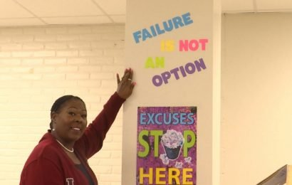 From janitor to assistant principal, woman shares journey of perseverance