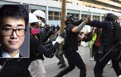 British Hong Kong consulate employee released from detention as pro-democracy protests turn violent