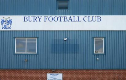 Bury: English Football League could grant Shakers extra 48 hours to avoid expulsion