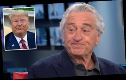 Robert DeNiro says 'gangster' Donald Trump may be 'medically crazy'