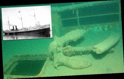 Shipwreck hunters find steamer Hudson 825ft deep in Lake Superior