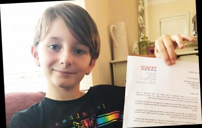 Little girl's letter to Tesco CEO goes viral after she asks why only boy's trousers have real pockets – The Sun