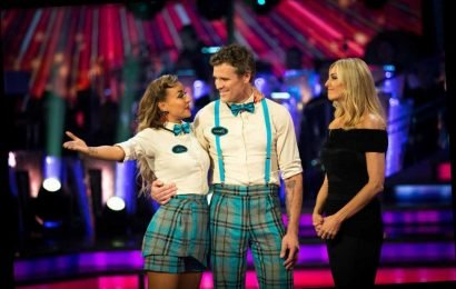 Strictly's James Cracknell apologises to partner Luba as he admits 'I'm no dancer' after getting kicked off the show first – The Sun