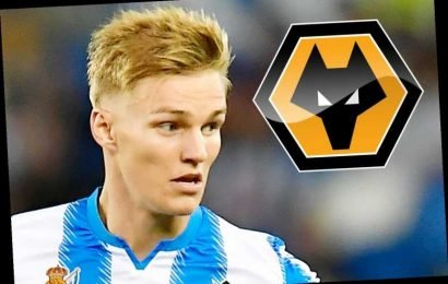 Wolves line up £20m transfer bid for Real Madrid flop Martin Odegaard after career turnaround at Real Sociedad – The Sun