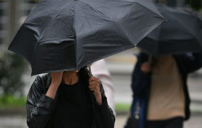 UK engulfed by thick cloud and torrential rain – but Indian summer will return