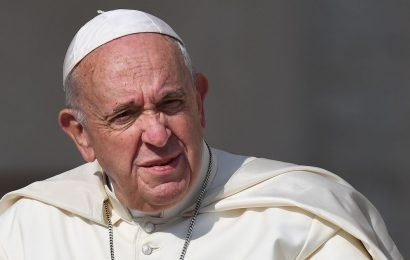 Pope rescued from lift by firefighters after being stuck for 25 minutes