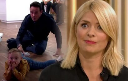 ITV This Morning: Ant and Dec chase guest across studio floor in hysterical video