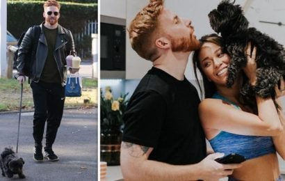 Neil Jones steps out with dog he shares with ex wife Katya Jones – who will get custody?