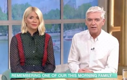 This Morning: Holly Willoughby and Phillip Schofield devastated over colleague's death