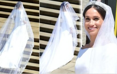 Meghan Markle's wedding veil revealed this about her role in the Royal Family expert says