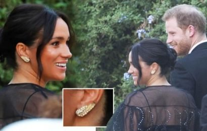 Meghan Markle wears £5 earrings from London market to Misha Nonoo wedding
