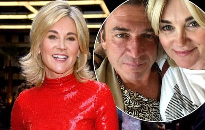 Anthea Turner, 59, engaged to Mark Armstrong