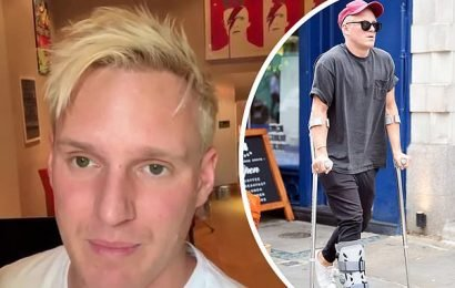 Jamie Laing WON'T compete in Strictly Come Dancing due to foot injury