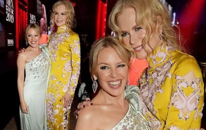 Nicole Kidman and Kylie Minogue debunk wacky conspiracy theory
