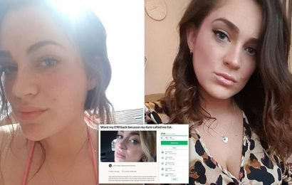 Fundraiser for woman who spent £93 on date raises nearly £800
