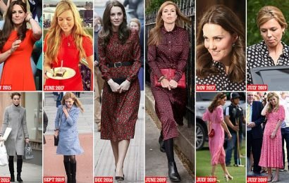 Boris Johnson's girlfriend Carrie finds  style inspiration from Kate