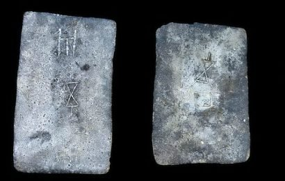 Ancient ingots from UK found in Israel reveal Bronze Age trade routes