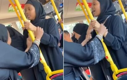 Revealed: Face of woman in hijab who hurled racist abuse at man on bus