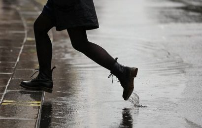 Up to three weeks' worth of rain set to fall in parts of UK