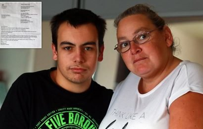 Mother 'gobsmacked' after letter from DWP said her son was dead