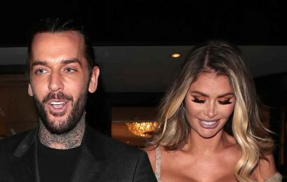 TOWIE's Pete Wicks and Chloe Sims get close during filming in Marbella years after facing romance rumours