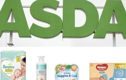 Asda baby event sees huge discounts on nappies, baby wipes and more