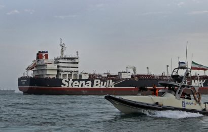 British tanker leaves port after being detained in Iran for months
