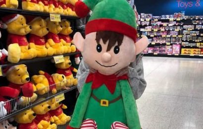 Home Bargains is selling a huge 4ft2 elf toy for £20