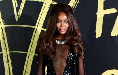 Naomi Campbell's Nearly Nude Look Turned Heads at Fashion for Relief