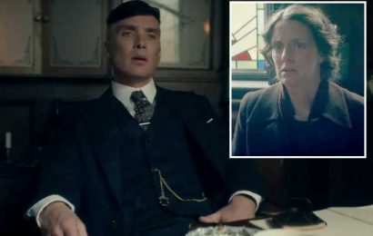 Peaky Blinders sees Tommy and Arthur begged to avenge three gruesome deaths in darkly comic scene