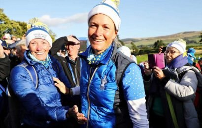 Solheim Cup heroes Pettersen and Matthew show the power of being a supermum after Europe beat America at Gleneagles – The Sun