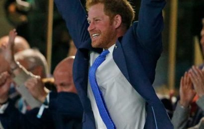 Prince Harry reveals he 'can't wait' for all the Rugby World Cup action as he posts good luck message to the England squad – The Sun