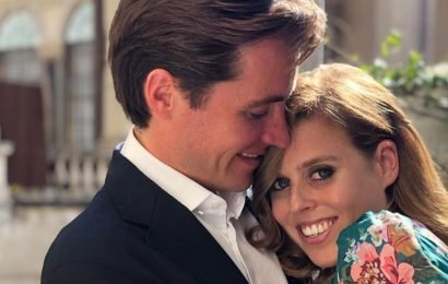 See Princess Beatrice's Diamond Engagement Ring Up Close!