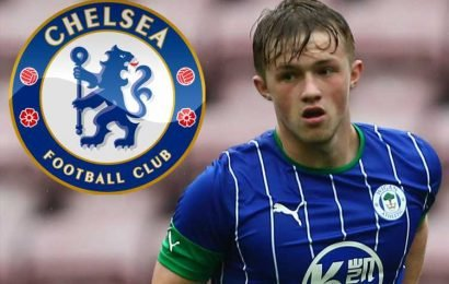 Chelsea and Liverpool set for transfer scrap over highly-rated Wigan teen Joe Gelhardt, 17 – The Sun
