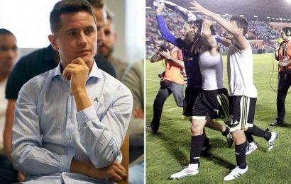 Ex-Man Utd star Ander Herrera arrives at court for match fixing trial over former club Real Zaragoza's 'suspect' win over Levante – The Sun